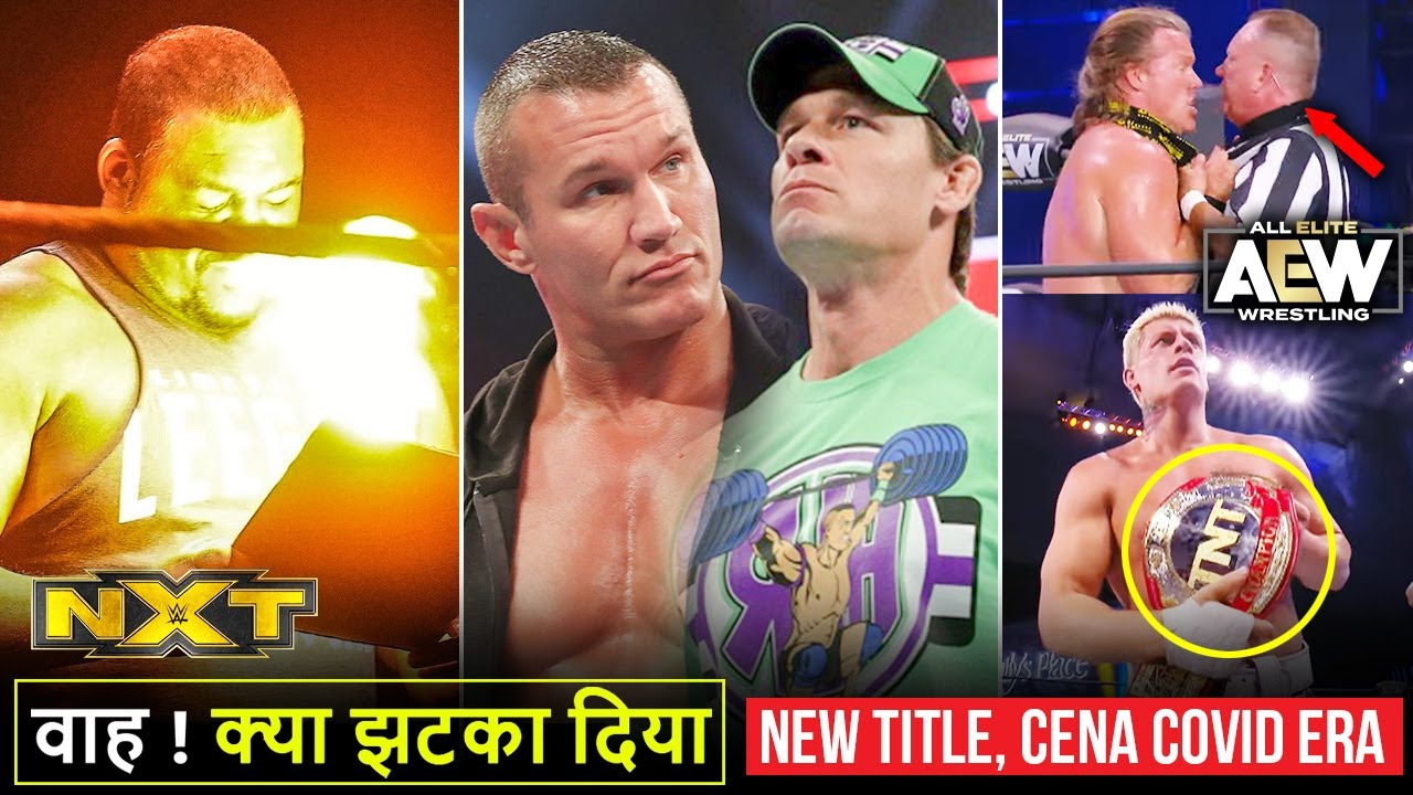 'Sach Me Aag Daal Di🔥' Moxley OMG, John Cena on COVID Era, Orton Words, New Title WWE NXT Highlights
