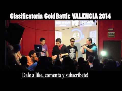 Mr. Ego VS Hoke Octavos GOLD BATTLE VALENCIA 2014