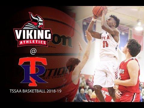2018 19 TSSAA Basketball Fayette Academy @ Tipton Rosemark Academy