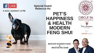 Pets' Happiness and Health In Modern Feng Shui.