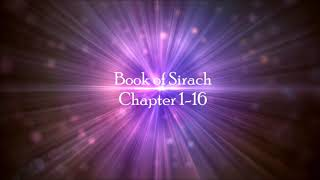 Book Of Sirach