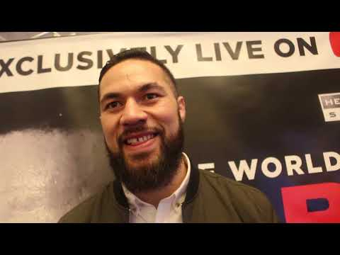 'EXPECT A KO ON THE CHIN OR THE LIVER! YOU PICK!' JOSEPH PARKER ON HUGHIE,HIS PROMOTER,JOSHUA,WILDER
