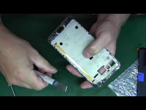 Meizu MX5 замена дисплейного модуля