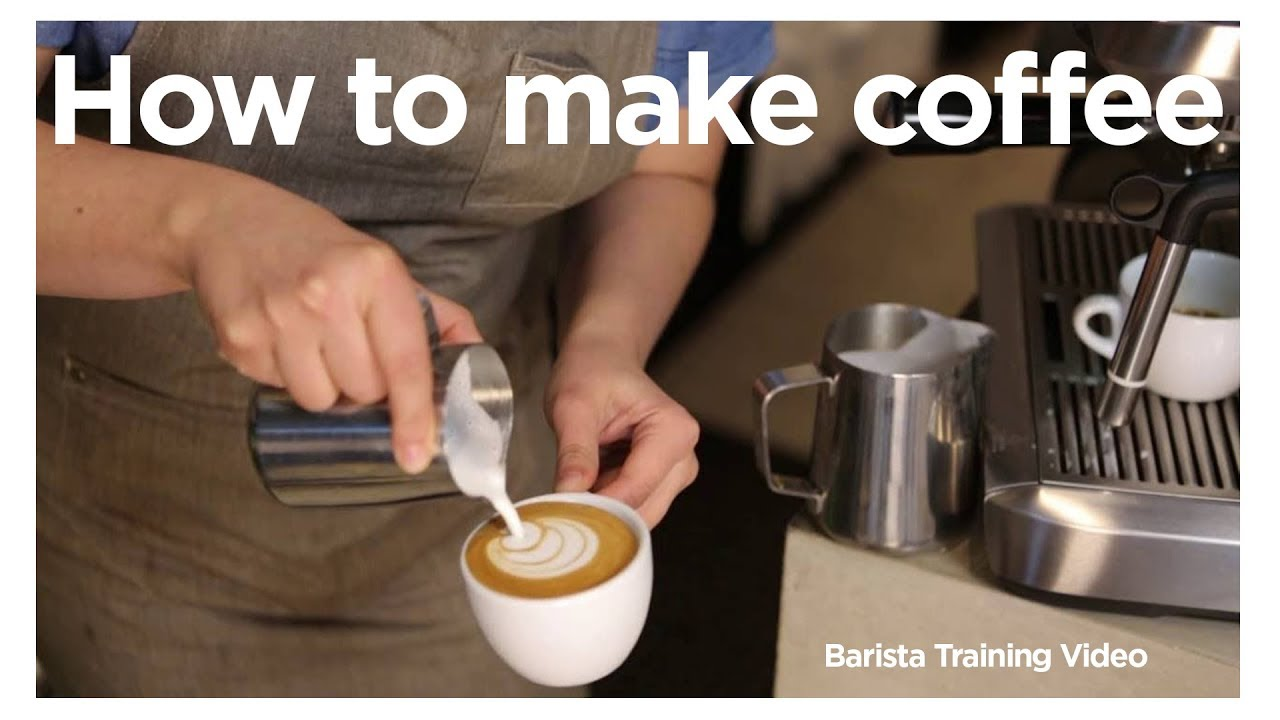 How to be a barista