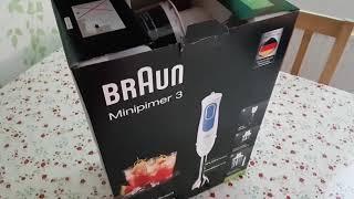 Braun multiquick 3 . MQ 3045 . Unboxing . First impression .