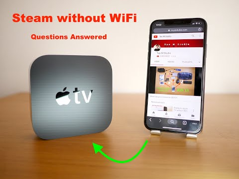 Stream To Apple TV Without WiFi-updated