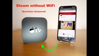 Q&A-Stream to Apple TV without WiFi