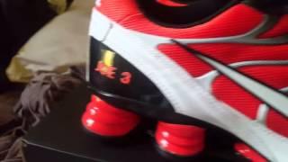 My custom made Nike Shox turbo shoes