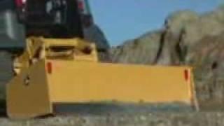 Video still for John Deere Hitachi Landscape Loader 210 LJ Action Scraper Box