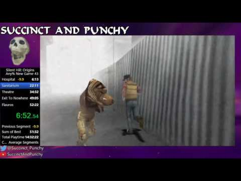 Silent Hill: Origins Any% New Game in 39:17 [WR]