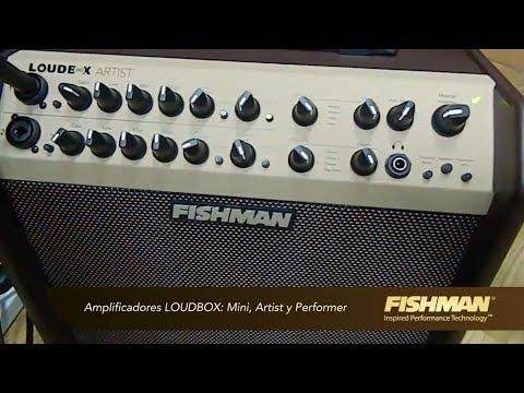 Amplificadores Fishman-Test Por Jesús Amaya