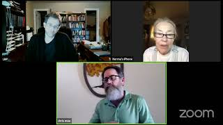 Grumpy tonight with Dr. Lawrence Pasternack and Norma Sapp