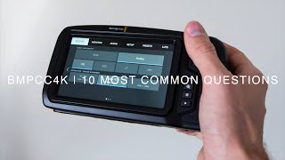 BMPCC4K | Q & A | Your 10 most common questions about Blackmagic Pocket Cinema Camera 4K answered