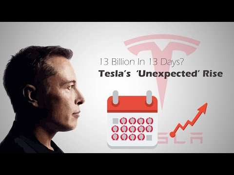 How did Tesla make 13 Billion Dollars  in 13 Days?