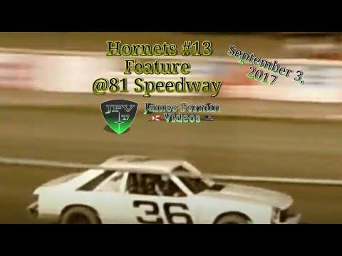 Hornets #16, Feature, 81 Speedway, 2017