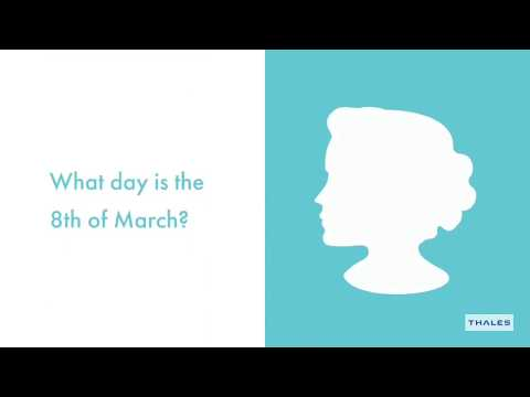 Do you know what day the 8th of March is?