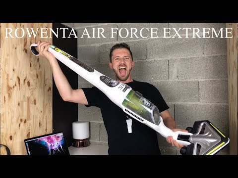 TEST ROWENTA AIR FORCE EXTREME YouTube