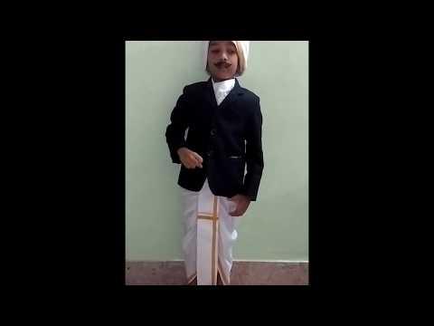 Tamil song Achamillai achamillai songMahakavi bharathiyarQMIS MADURAI