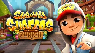 SUBWAY SURFERS (Kiloo) Gameplay HD - Shanghai - Jake - Fun Games For Kids - Kids TV channel