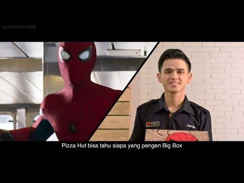 Iklan Pizza Hut - Big Box Spider-Man 30sec (2017)