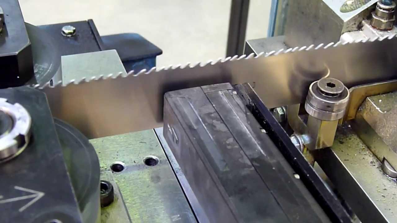 made How strip is bimetal bandsaw