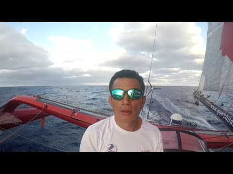 Video: Chinese Sailor Guo Chuan on the Course of Trans-Pacific Journey before Missing