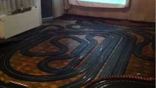 "Carrera Digital 132, 83 Meter Strecke, Keller von ""Carrera Reiner"", 272 feet of slotracing track"
