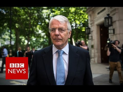 Sir John Major: 'Dubious' about deal with the DUP - BBC News