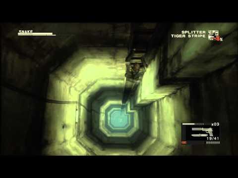 Metal Gear Solid 3 Snake Eater Ladder Scene