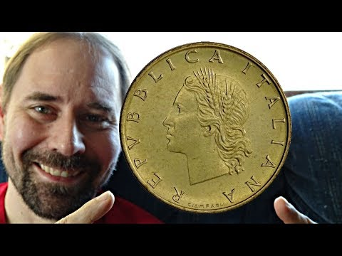 Koin Italy 20 Lire 1993