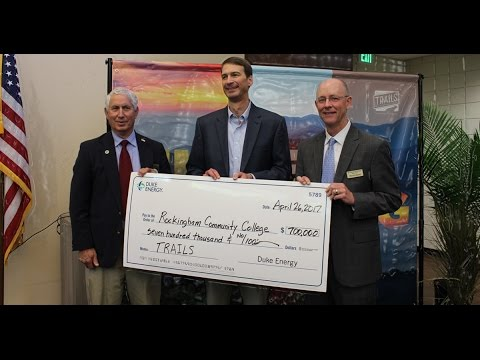 Rockingham Community College Receives $700,000 Gift from Duke Energy