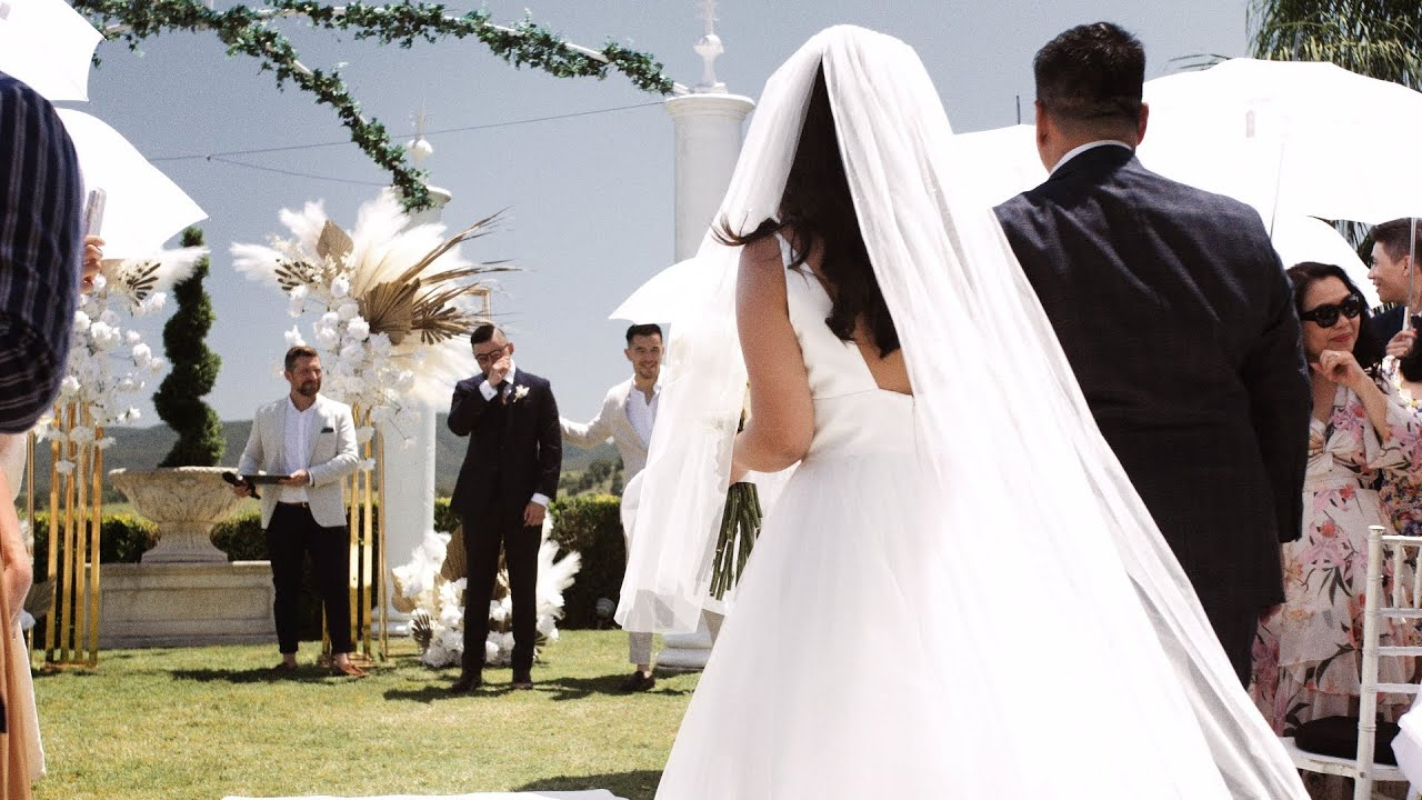 Camille & Ray // Cinematic Wedding Film at Glengariff Historic Estate