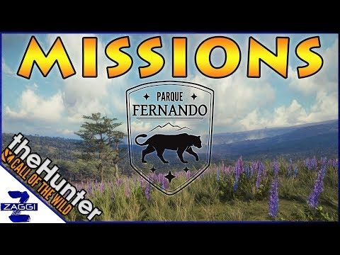 MISSIONS on Parque Fernando TheHunter Call of the Wild