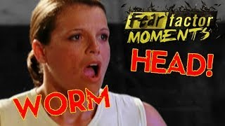 Fear Factor Moments | Worm Head