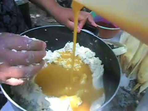 como hacer tamales de masa cocida
