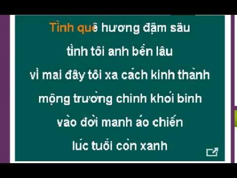 CHIEU THUONG DO THI karaoke