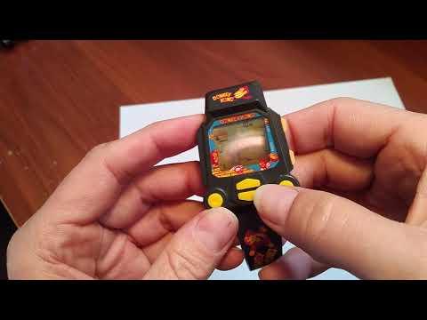 Donkey Kong Nelsonic Nintendo Game Watch 1994 DEMO DonkeyKong