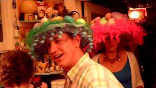 Crazy Easter Bonnet hat party, THESE HATS ARE VERY FUNNY!  Savannah Easter Party Report!