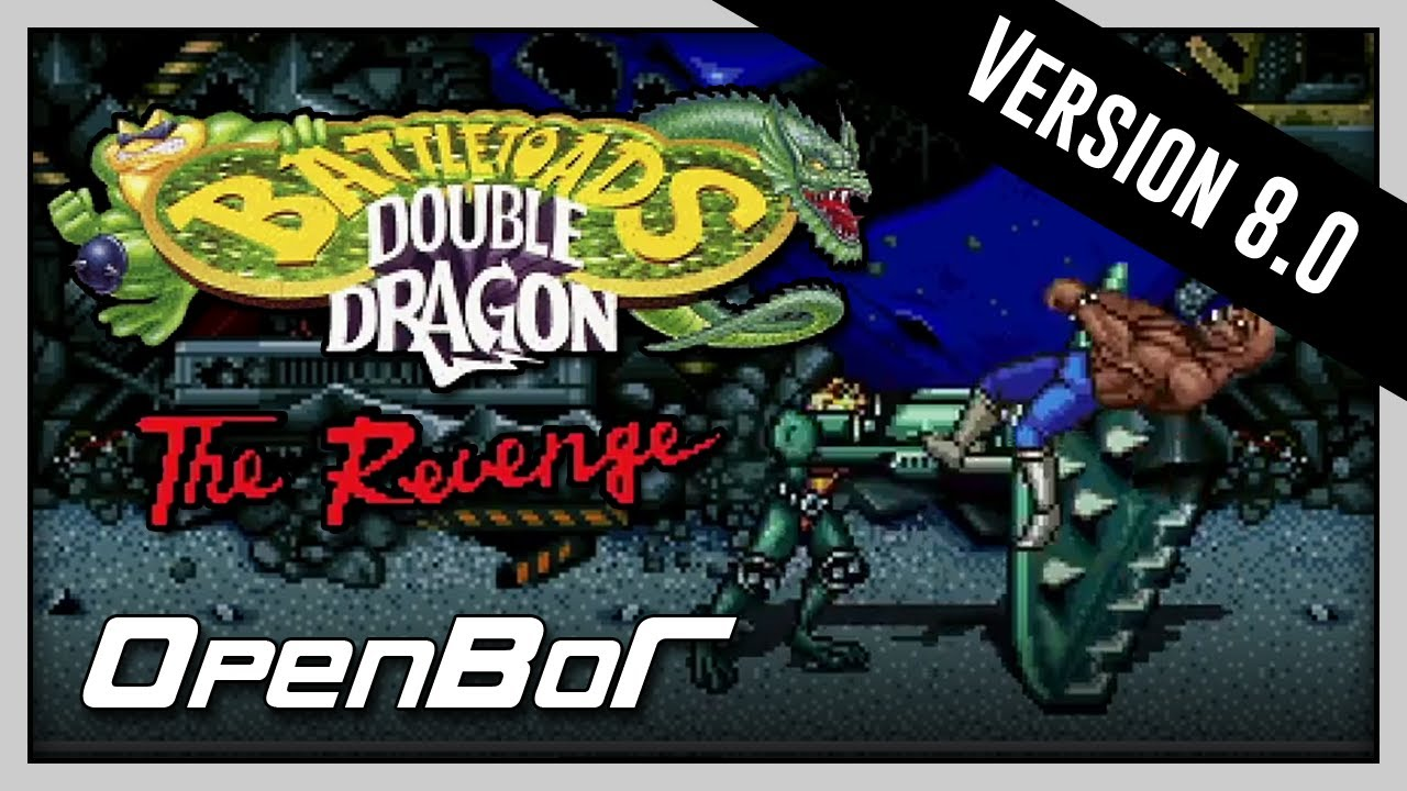 Battletoads Double Dragon - The Revenge v.8 (OpenBor) Full Playthrough