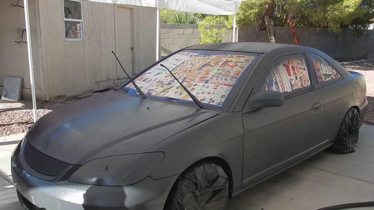 DIY: Dip Your Car Carbon Red Plasti Dip