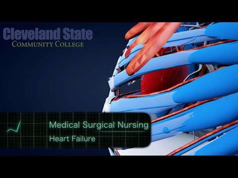 Medical Surgical Nursing - Heart Failure Lecture MADE EASY