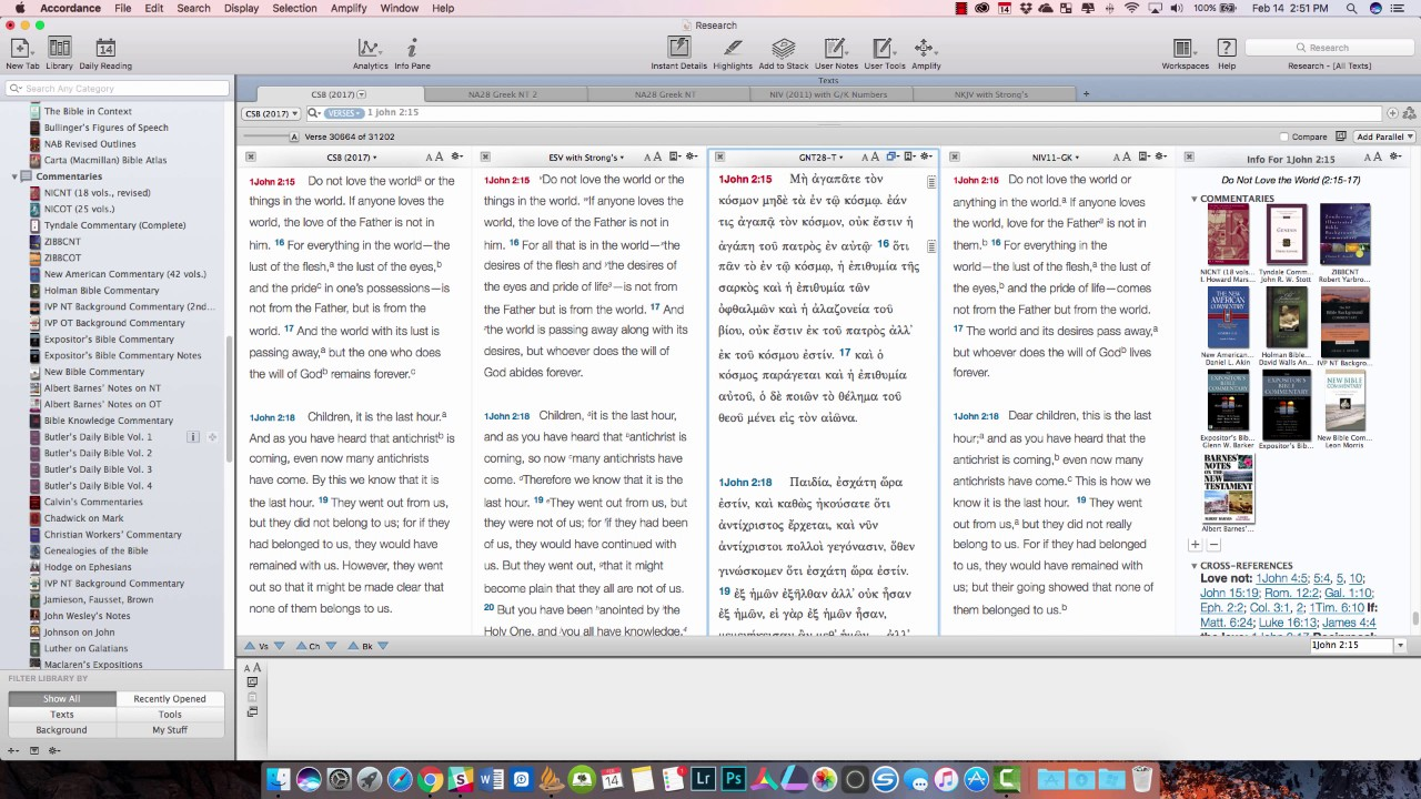Accordance 12 Bible Software Review
