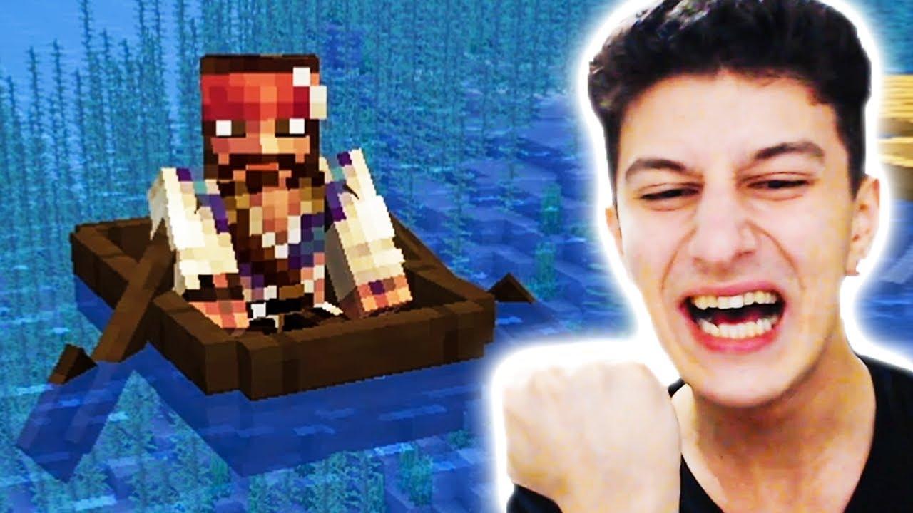 KORSANLA SAVAŞTIM 😱 Minecraft 48