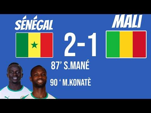 Sénégal Vs Mali Résumé Du Match