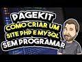 Veja como Criar um Site PHP com MySQL ou SQLite - Pagekit