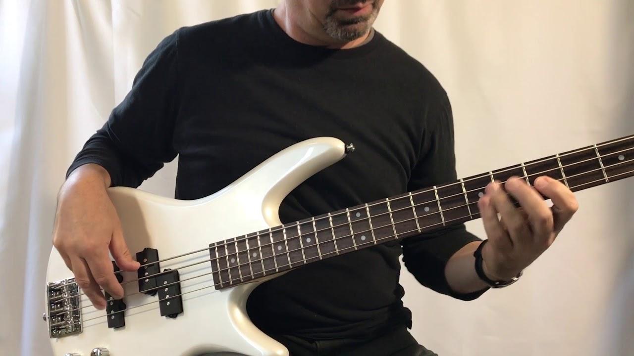 Sound samples of our picks for beginner's bass guitar - both pickups,  medium tone