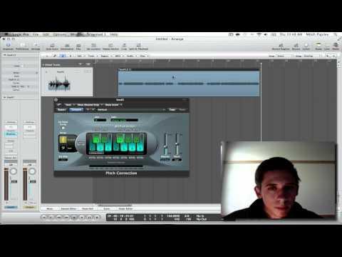 Logic Pro 9 Tutorial - Built in Auto-Tune