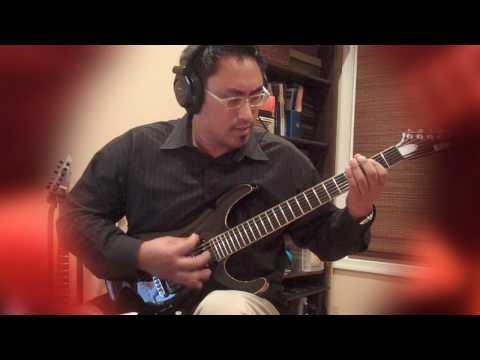 Ghosts of War - Slayer - Guitar Cover with all solos by Freddy Delacruz ESP SRC STEF-6