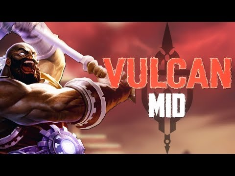 Vulcan Ranked Mid: CHANNELING MY INNER PRETTYPRIME! - Incon - Smite