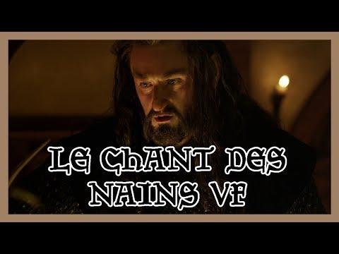 Bilbo Le Hobbit - Chant des Nains VF poster